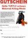 Geschenkgutschein Helite TURTLE schwarz Motorrad Airbag-Weste